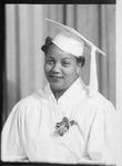 Arminta Miller (Justice), graduation photo
