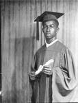Willie Moore, graduation photo