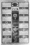 Small Notan Studio calendar for 1933