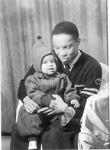 Herbert Venable, with baby