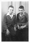 C. W. Watts, 2 unidentified boys
