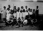 Wild Cat school (Smick), Teacher, Mary Farmer,1932/33
