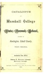 1871-1872 Catalogue of Marshall College State Normal School