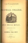 1876-1877 Catalogue of Marshall College, State Normal School