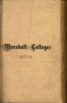 1877-1878 Catalogue of Marshall College, State Normal School