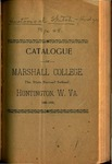 1892-1893 Catalogue of Marshall College, The State Normal School