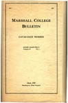1918-1919 Catalogue of Marshall College