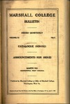 1920-1921 Catalogue of Marshall College by Marshall University