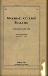 1922-1923 Catalogue of Marshall College