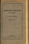 1923-1924 Catalogue of Marshall College