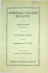 1930-1931 Catalogue of Marshall College