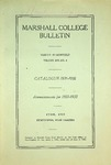 1931-1932 Catalogue of Marshall College by Marshall University