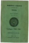 1940-1941 Catalogue of Marshall College