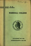 1947-1948 Catalogue of Marshall College