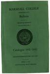 1941-1942 Graduate Catalogue
