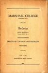 1942-1943 Graduate Catalogue