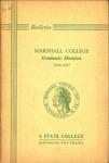 1946-1947 Graduate Catalogue