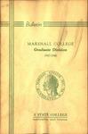 1947-1948 Graduate Catalogue