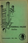 1952-1954 Marshall College Bulletin by Marshall University