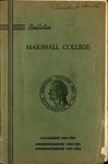 1949-1950 Marshall College Bulletin by Marshall University