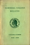 1958-1960 Marshall College Bulletin by Marshall University