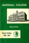 General Undergraduate Catalog, 1960-1962