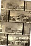 General Undergraduate Catalog, 1966-1967 by Marshall University
