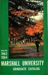Graduate Catalog, 1962-1964 by Marshall University