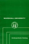 General Undergraduate Catalog, 1974-1975 by Marshall University