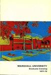 Graduate Catalog, 1971-1972