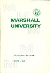 Graduate Catalog, 1975-1976