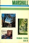 Graduate Catalog, 1978-1979