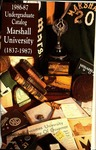 General Undergraduate Catalog, 1986-1987 by Marshall University