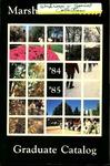 Graduate Catalog, 1984-1985