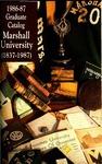Graduate Catalog, 1986-1987