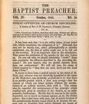 Public Offences, or Church Discipline: No. II by Alexander Wilds Chambliss