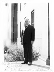 Dr. J.M. Emmett, Pres., C&O Railway Surgeons, Greenbrier Hotel, Nov 1934
