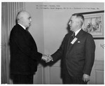 Dr. G.M. Todd and Dr. J.M. Emmett, officers of C&O Hospital Assn,1935