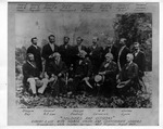 """""""Soldiers and Citizens"""" Robert E. lee & others at Greenbrier, W.Va., Aug. 1869"""