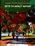 2013-2014 Impact Report by Marshall University College of Business