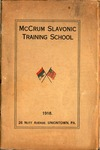 10. McCrum Slavonic Training School by Melville Homer Cummings and Robert H. Ellison
