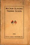 10. McCrum Slavonic Training School