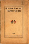 Series I. Personal Materials. Folder 5. Training Schoolbooks, 1909-1918 by Melville Homer Cummings