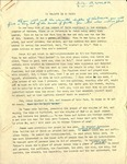 Series II(b). Radio Sermons. Folder 2. Radio Sermons 1948-1960