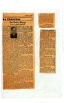 Series III. Folder 1. Articles, 1931-1965 by Melville Homer Cummings