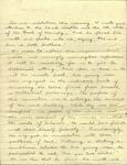 Series III. Folder 7. Handwritten notes, n.d