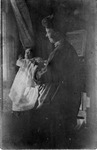 Curtis Baxter at age 3 months, Ravenswood, W.Va., 1907