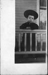 Curtis Baxter at age 27 months, Ladoga, Ind, 1909