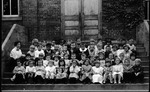 Curtis Baxter at his first school in Pt. Pleasant, W.Va., Oct. 3, 1913