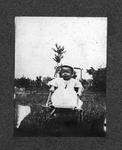 Curtis Baxter at Aunt Josie's, age 6 months, 1907